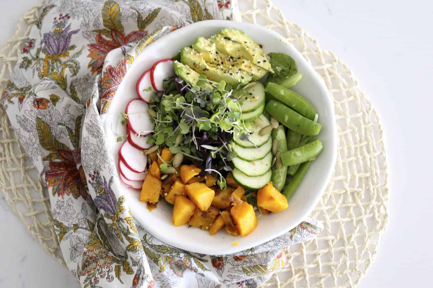 Butternut Squash And Everything Else Salad