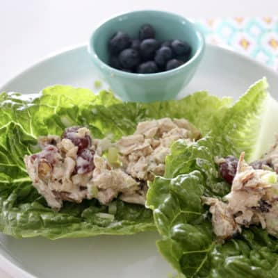 Easy-Peasy Whole30 Chicken Salad