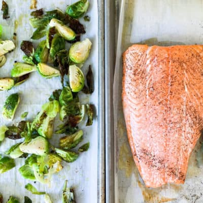 Foolproof baked salmon