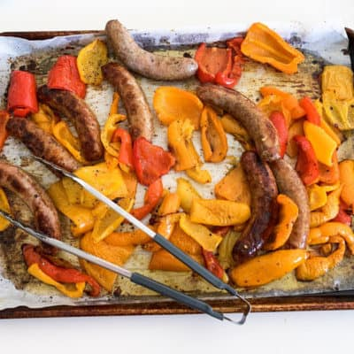 Mamma Mia's Whole30 Sausage and Peppers