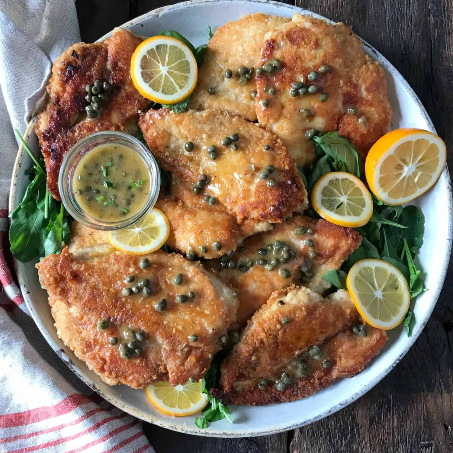 No Crumbs Left Chicken Piccata