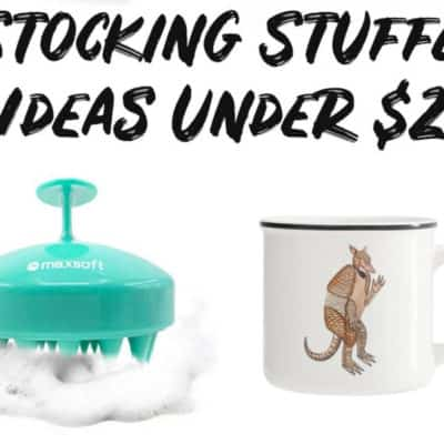 Stocking Stuffer Ideas Under $25 banner