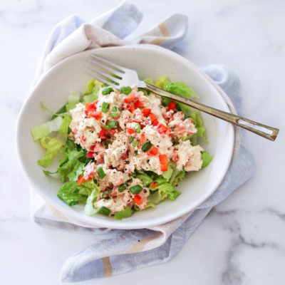 The best Whole30 tuna salad
