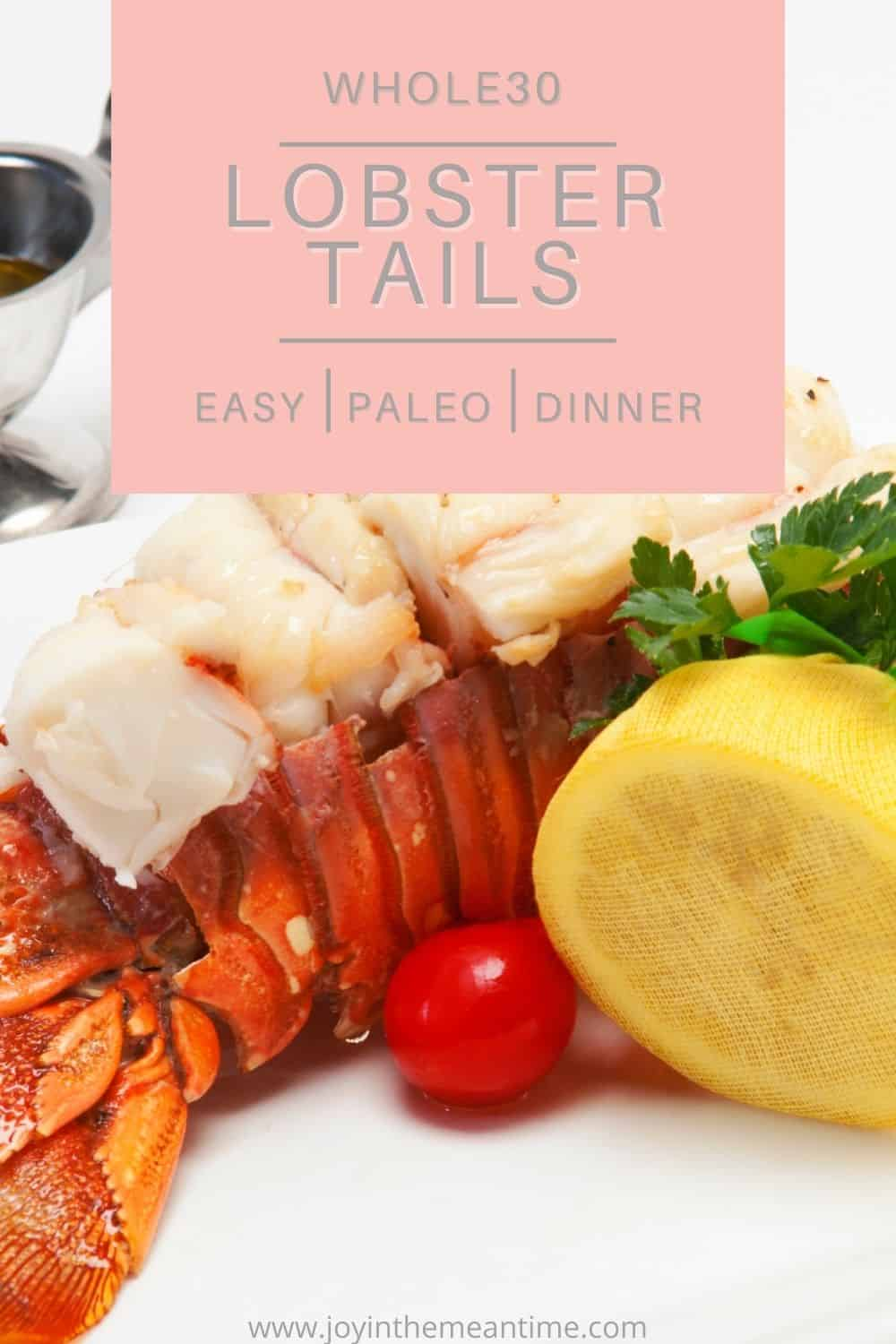whole30 lobster tail