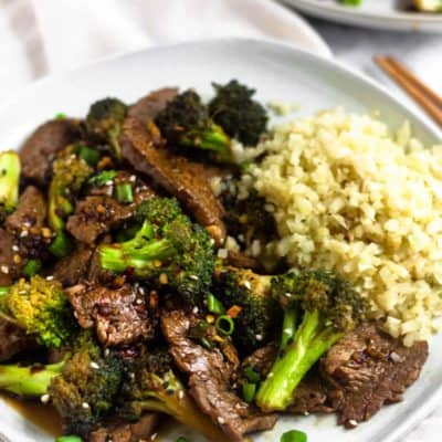 Beef and Broccoli by Eat the Gains