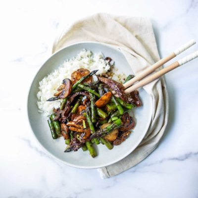 Beef and Asparagus