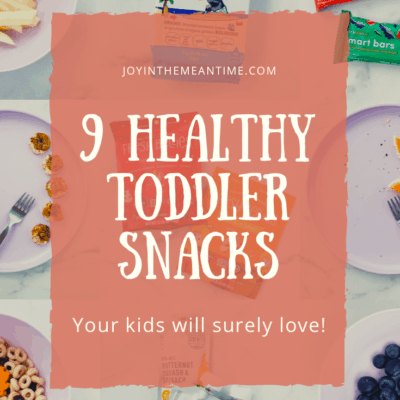 9 Healthy Toddler Snacks