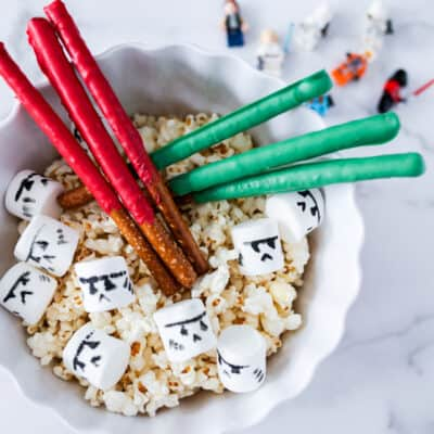 Star Wars Inspired Popcorn