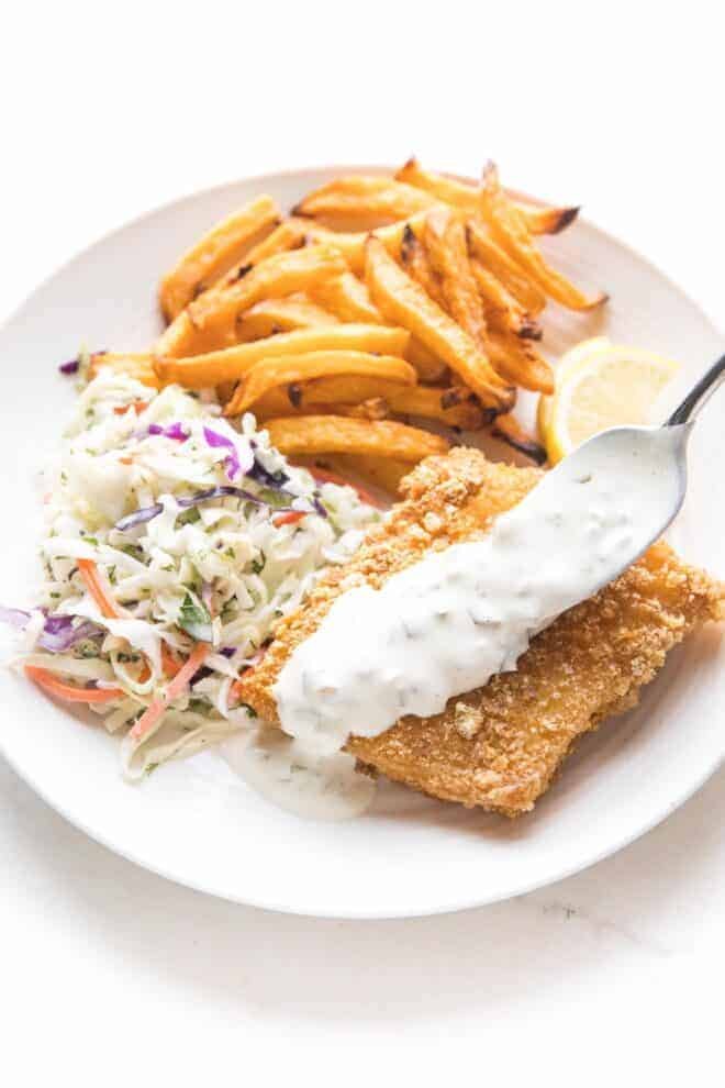 Whole30 Fish + Chips