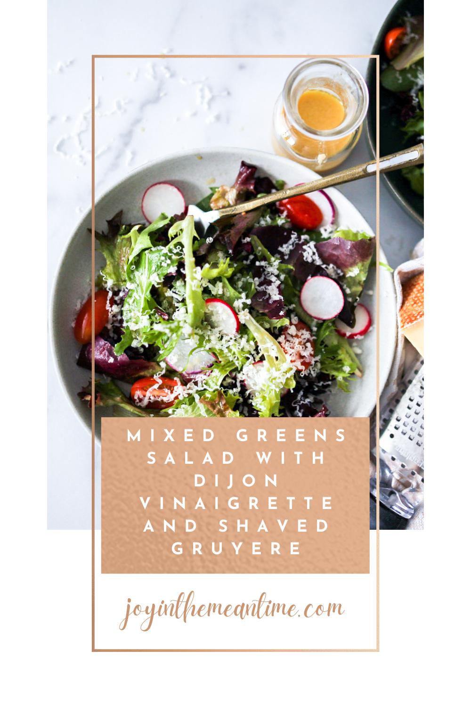 Whole30 Mixed Greens Salad Pin